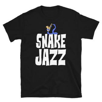 Black Rick and Morty Fan Snake Jazz Rattlestar Ricklactica Season 4 Unisex T-Shirt