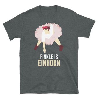 Dark Grey Heather Jim Carrey Ace Ventura: Pet Detective Football Tutu - Finkle Is Einhorn T-Shirt