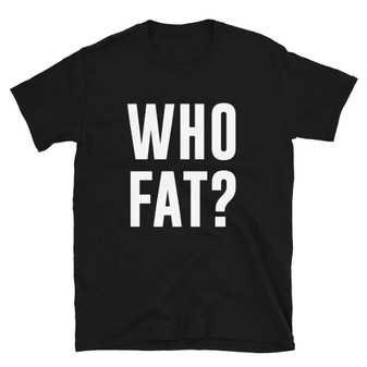 Black The Simpson's Inspired Who Dat/Who Fat Joke Homer Simpson T-Shirt New Orleans Lisa Gets The Blues Simpson's Episode
