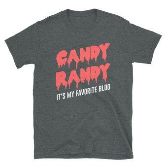 Dark Grey Bob's Burgers Halloween - Candy Randy It's My Favorite Blog - Candy Randy Map T-Shirt