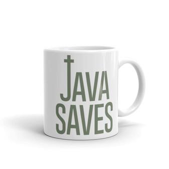 The Walking Dead Inspired - Java  Saves Coffee Mug