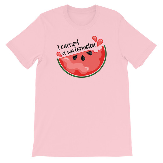 Pink Dirty Dancing Baby Inspired I Carried A Watermelon Unisex T-Shirt