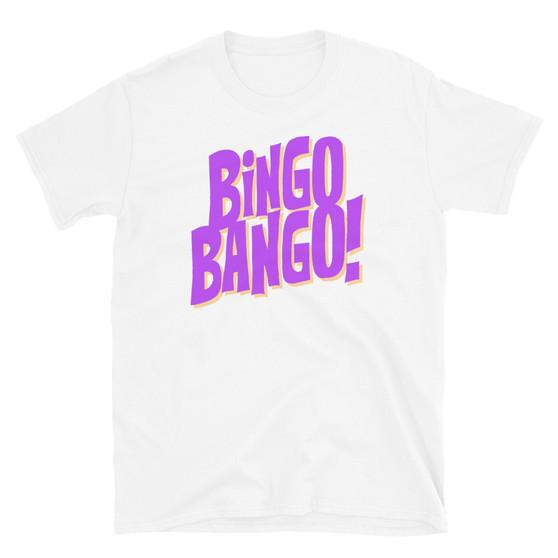 White Solar Opposites Funbucket - Bingo Bango Catchphrase Korvo and Terry Funbucket Cat Lion Monster T-Shirt