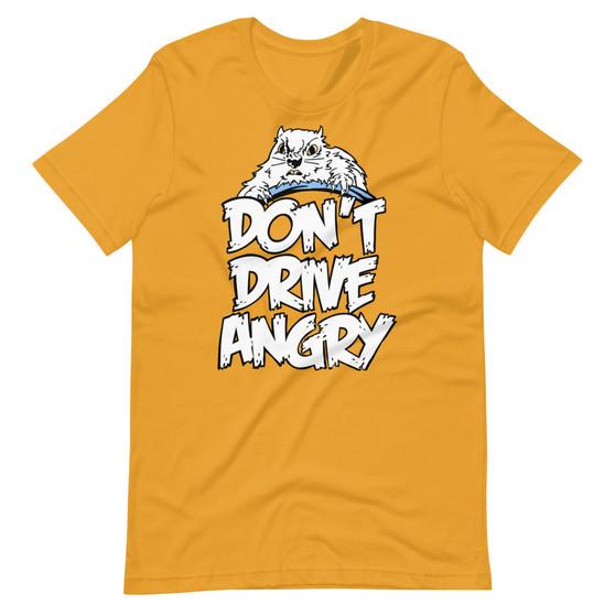 Orange Groundhog Day Bill Murray Don't Drive Angry Punxsutawney Phil Angry Groundhog Driving T-Shirt