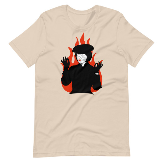Mrs. White CLUE Inspired - Flames On The Side Of My Face T-Shirt