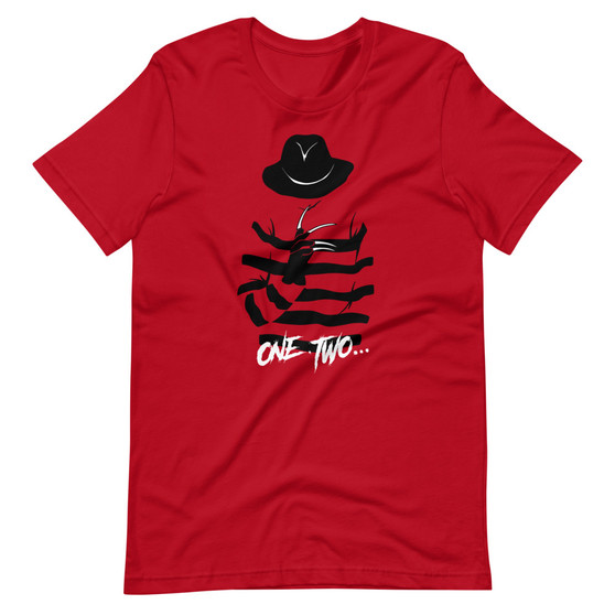 Nightmare On Elm Street Inspired - One, Two Freddy's Coming For You T-Shirt