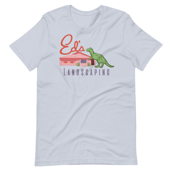Edward Scissorhands Inspired - Ed's Landscaping T-Rex Topiary T-Shirt