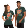 Man and Woman Wearing Lizzo Positive Quote Love Looks Better In Color Unisex Music T-Shirt