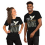Man and Woman Wearing David Bowie Song Within You - King Jareth - Labyrinth Movie Inspired - I Move The Stars For No One - Owl - T-shirt