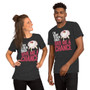 Man and Woman Wearing Ave Ventura Tutu Football Sports - I'm Ready To Go In Coach Give Me A Chance - Crazy T-Shirt