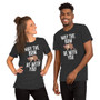 Man and woman wearing Solar Opposites For The Wall Shrunk Humans Ant Farm Pet Molly Mouse with Bow Sweet Mouse - For The Wall Rebellion T-Shirt