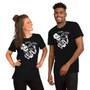 Man and Woman Wearing Halloween Drinking Joke - I Don't Feel It Drunk Skeleton - Heavy Drinker Gift Horror Fan T-Shirt