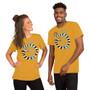Man and Woman Wearing Beetlejuice Movie Betelgeuse - Never Trust The Living Sandworm Tim Burton Horror T-shirt