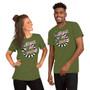 Man and Woman Wearing Beetlejuice Movie Tim Burton - Strange And Unusual Sandworm Lydia Deetz Quote Halloween T-shirt