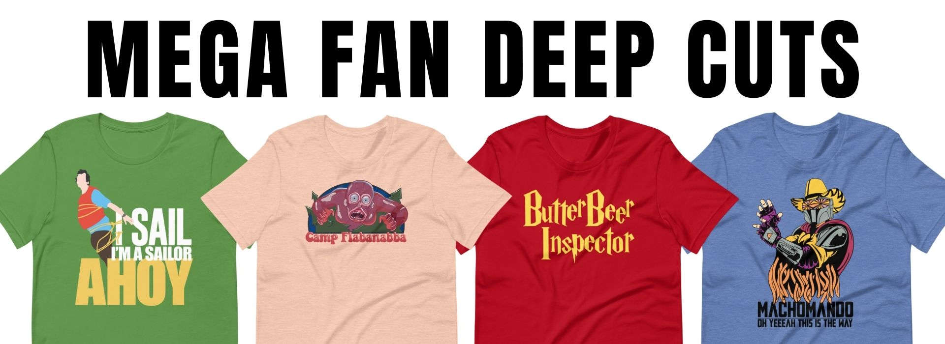 Culture Sub T-Shirt Designs For Fandom Movies Music TV and More