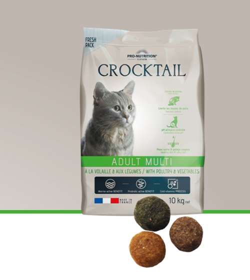 Flatazor Crocktail Adult with Poultry & Veg 10kg