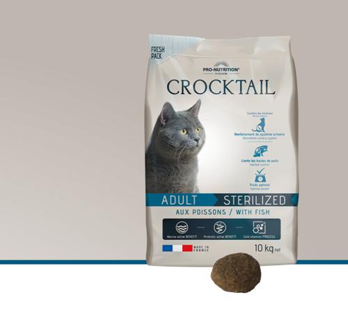 Flatazor Crocktail Adult Sterilized/Light with Fish 10kg