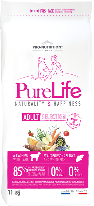 Flatazor PureLife Selection (with Lamb) 11kg