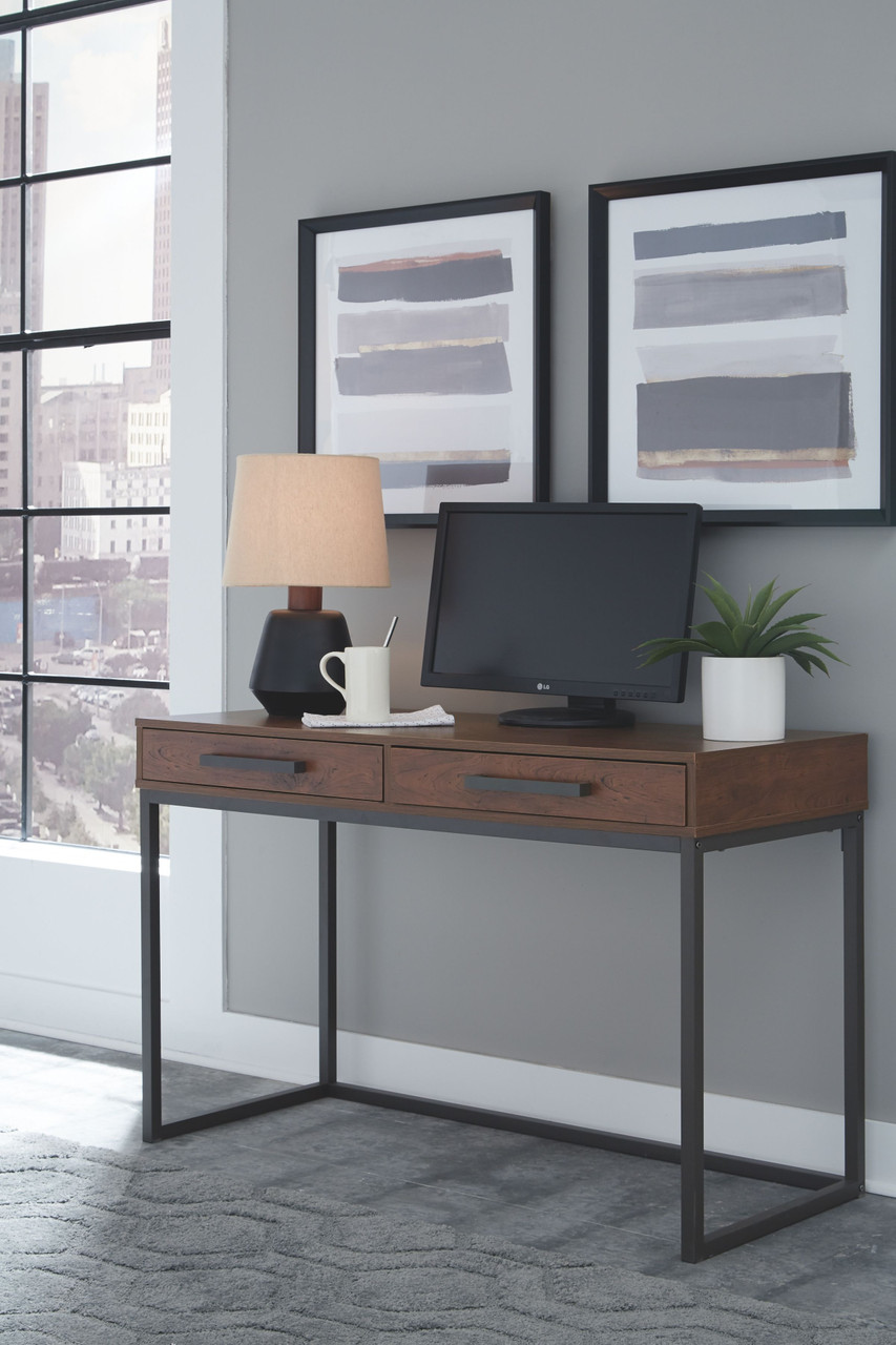 Horatio Dark Brown Home Office Small Desk On Sale At American Furniture Of Slidell Serving Slidell La