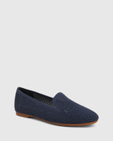 Ambition Oxford Blue Recycled Knit Loafer