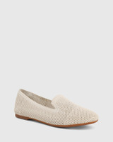 Ambition Vintage Ivory Recycled Knit Loafer