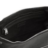 Brynn Black Leather Large Shoulder Bag