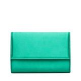 Larson Jade Satin Handbag