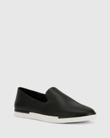 Adrian Black Leather Loafer.