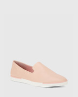 Adrian Pink Leather Loafer.