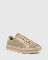 Benni Beige Canvas Sneaker