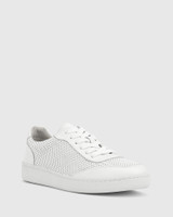 Grady White Leather Sneaker.