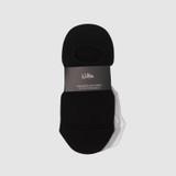 Rib Sneaker Sock Pk3 Black/Grey Marle/White