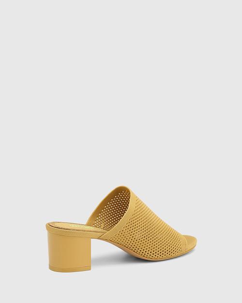 Ismene Manilla Recycled Flyknit Block Heel Sandal