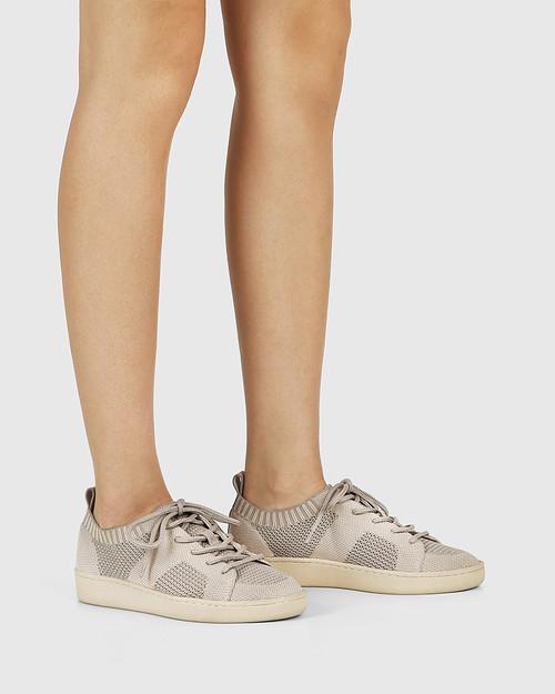 Gabrian New Beige Recycled Flyknit Sneaker