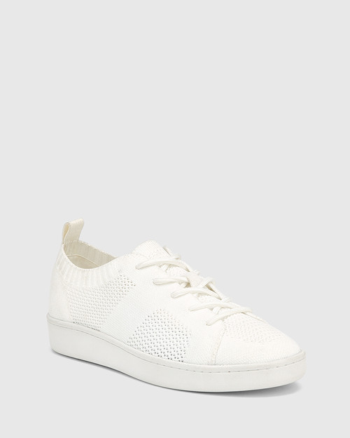 Gabrian White Recycled Knit Sneaker