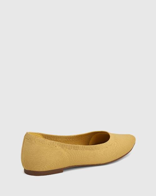 Pippa Manilla Recycled Knit Ballet Flat & Wittner & Wittner Shoes