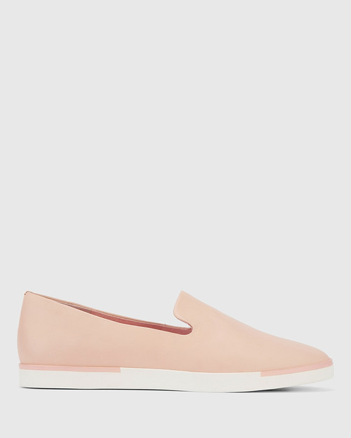 Adrian Pink Leather Loafer