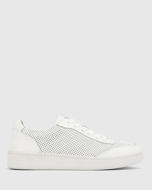 Grady White Leather Sneaker
