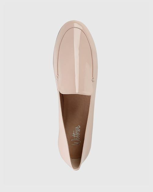 Banks Pink Patent Loafer