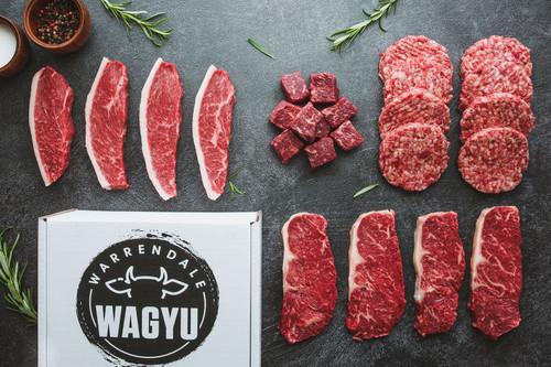 Wagyu BBQ meat box