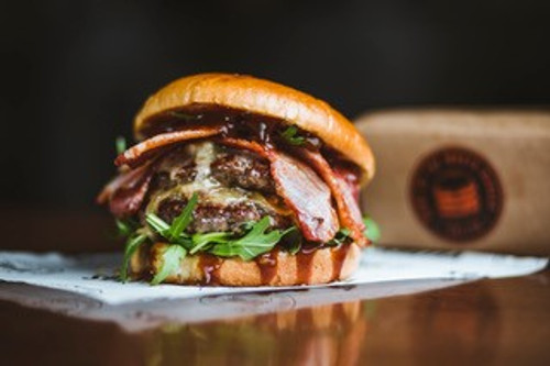 DIY Bacon Blue Cheese Burger Kit for 4