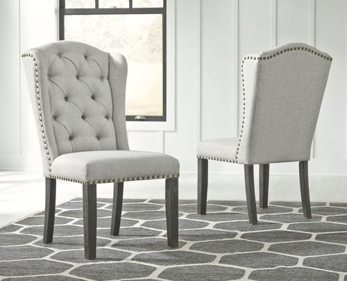 Jeanette Linen Dining Upholstered Side Chair