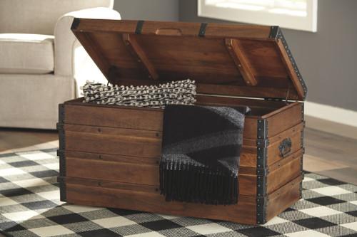 Kettleby Brown Storage Trunk
