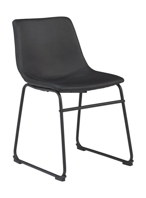 Centiar Black Dining Upholstered Side Chair (2/CN)