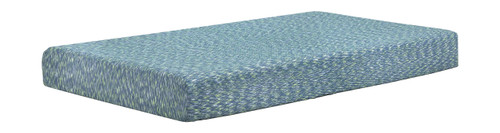 IKidz Blue Blue Twin Mattress and Pillow 2/CN