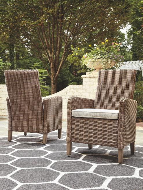 Beachcroft Beige Arm Chair With Cushion (2/CN)