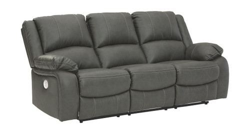 Calderwell Gray Reclining Power Sofa