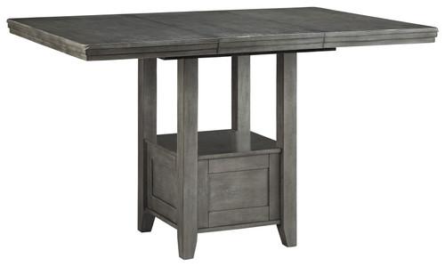 Hallanden Gray Rectangular Counter Extension Table