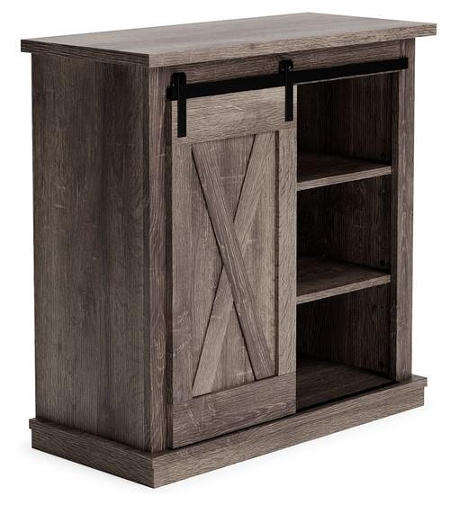 Arlenbury Antique Gray Accent Cabinet
