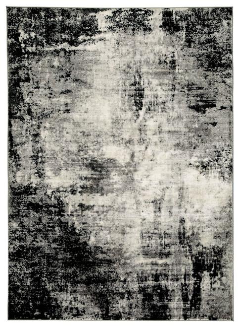 Zekeman Black/Cream/Gray Medium Rug